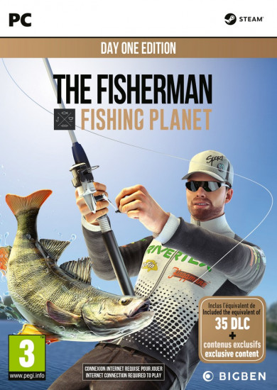 PC játék Fisherman Fishing Planet