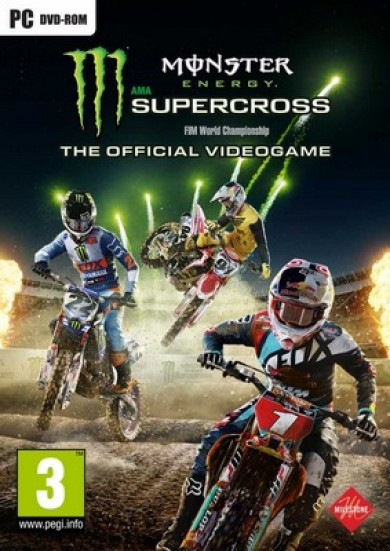 PC játék Monster Energy Supercross - The Official Videogame