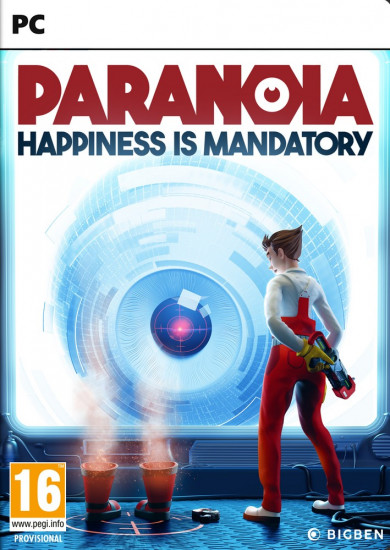 PC játék Paranoia: Happiness is Mandatory (PC)