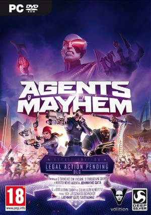 PC játék Agents of Mayhem Retail Edition