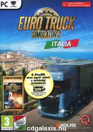Euro Truck Simulator 2 Italia PC (magyar feliratos)