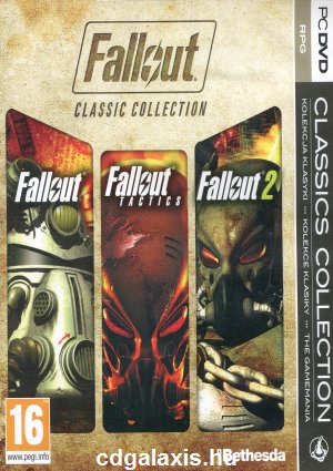 PC játék Fallout Classic Collection