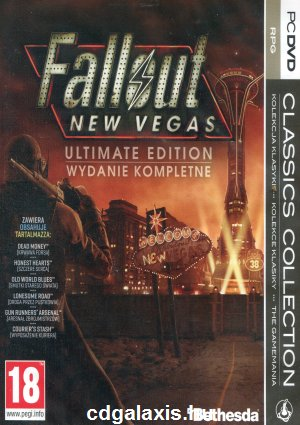 PC játék Fallout: New Vegas Ultimate Edition
