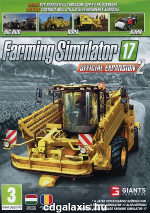 PC játék Farming Simulator 17 Official Expansion 2