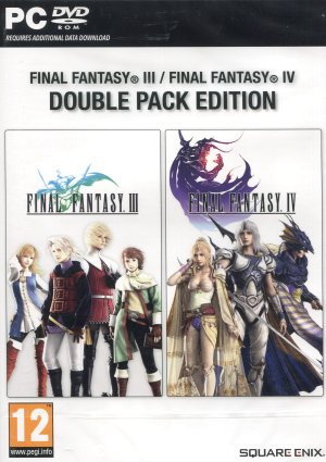 PC játék Final Fantasy 3 és 4 Double Pack Edition