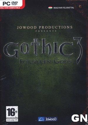 Gothic 3: Forsaken Gods bor�t�