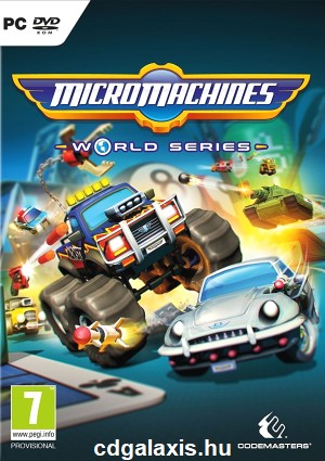PC játék Micro Machines World Series