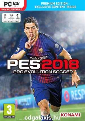 PC játék Pro Evolution Soccer 2018 Premium Edition