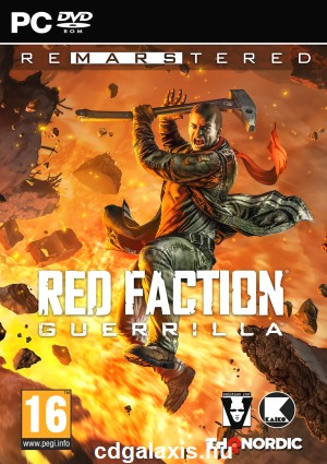 PC játék Red Faction Guerilla Re-Mars-Tered