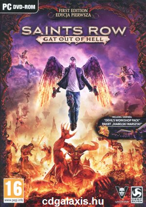 PC játék Saints Row: Gat Out of Hell First Edition