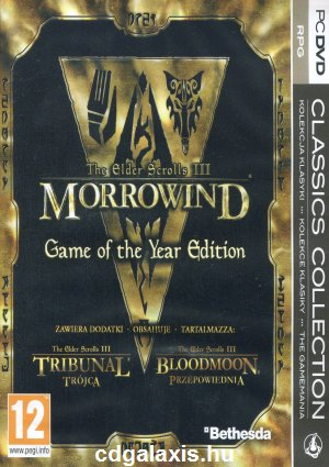 PC játék Elder Scrolls 3 Morrowind Game of the Year Edition