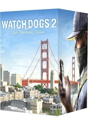 Watch Dogs 2 San Francisco Edition borító