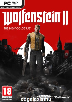 PC játék Wolfenstein II: The New Colossus (október 27.)