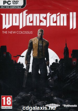 PC játék Wolfenstein II: The New Colossus