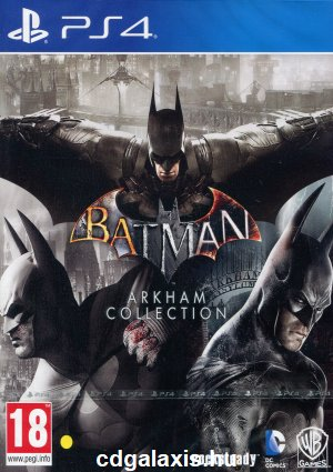 Playstation 4 Batman Arkham Collection