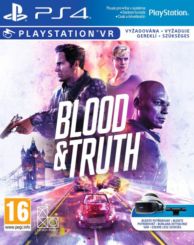 Playstation 4 Blood and Truth VR