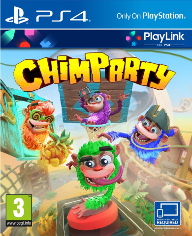 Playstation 4 Chimparty