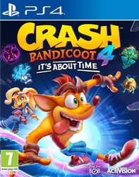 Playstation 4 Crash Bandicoot 4 Its about Time