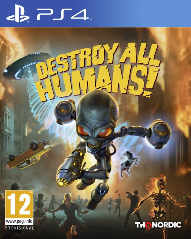 Playstation 4 Destroy All Humans! (2020)