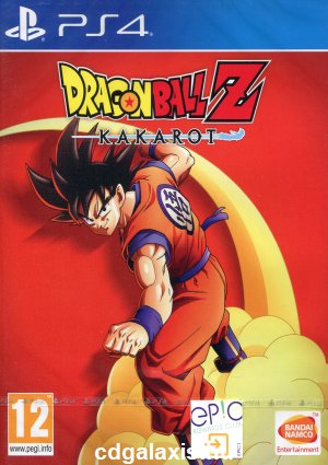 Playstation 4 Dragon Ball Z: Kakarot