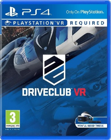 Playstation 4 DriveClub VR