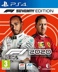 Playstation 4 F1 2020 Seventy Edition