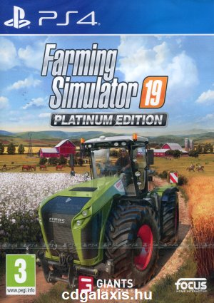 Playstation 4 Farming Simulator 19 Platinum Edition