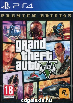 Playstation 4 Grand Theft Auto 5 Premium Edition