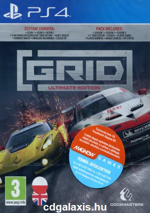 Playstation 4 Grid Ultimate Edition