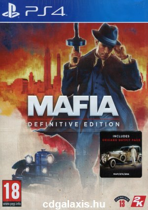 Playstation 4 Mafia Definitive Edition