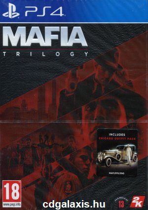 Playstation 4 Mafia Trilogy