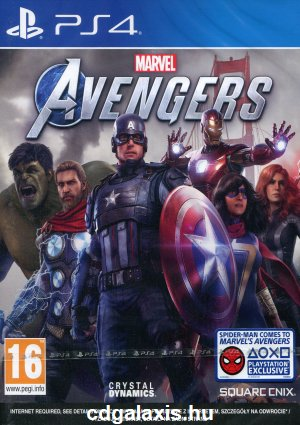 Playstation 4 Marvels Avengers