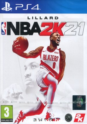 Playstation 4 NBA 2K21