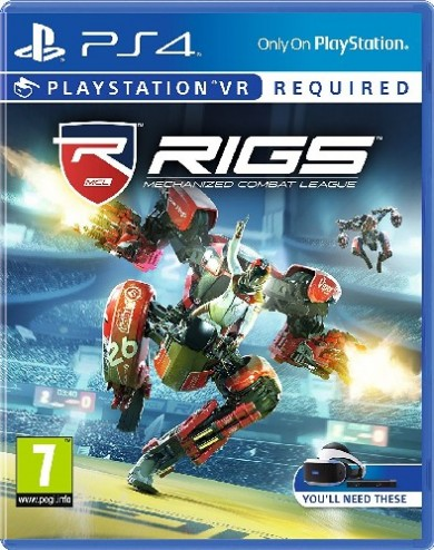 Playstation 4 RIGS Mechanized Combat League VR (Playstation VR szükséges)