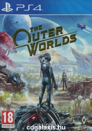 Playstation 4 The Outer Worlds borítókép