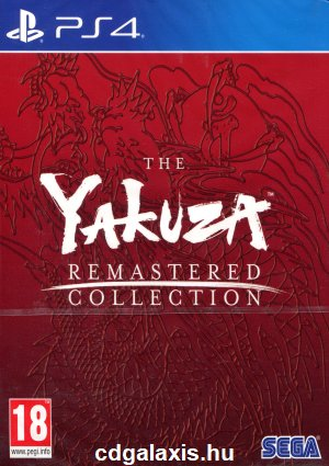 Playstation 4 The Yakuza Remastered Collection Day One Edition