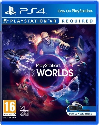 Playstation 4 VR Worlds (Playstation VR szükséges)