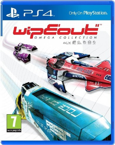 Playstation 4 Wipeout Omega Collection