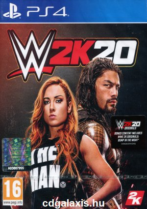 Playstation 4 WWE 2K20