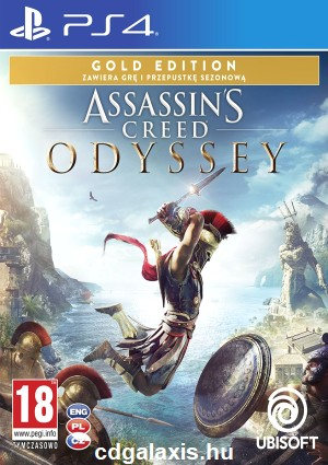 Playstation 4 Assassin's Creed Odyssey Gold Edition