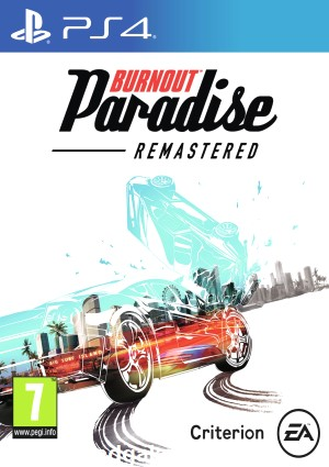 Playstation 4 Burnout Paradise Remastered