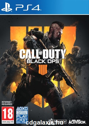 Playstation 4 Call of Duty Black Ops 4