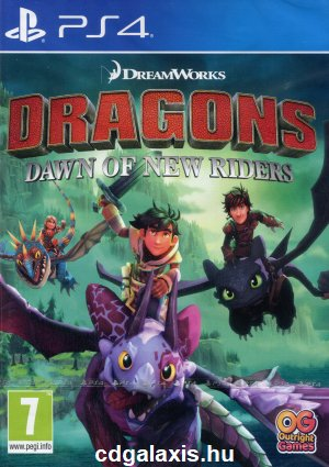 Playstation 4 Dragons Dawn of New Riders