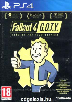 Playstation 4 Fallout 4 Game of the Year Edition