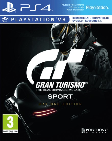 Playstation 4 Gran Turismo Sport Day One Edition