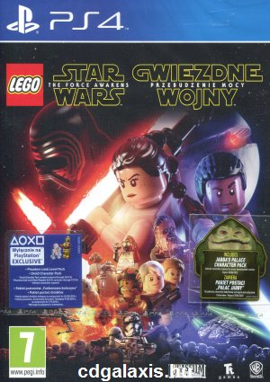 Playstation 4 LEGO Star Wars: The Force Awakens borítókép