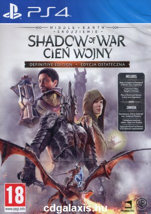 Playstation 4 Middle-earth: Shadow of War Definitive Edition