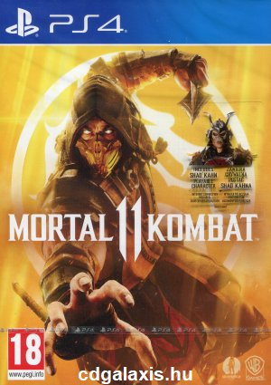 Playstation 4 Mortal Kombat 11