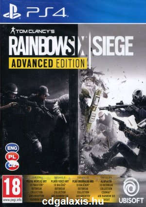 Playstation 4 Rainbow Six Siege Advanced Edition