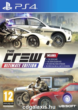 Playstation 4 Crew Ultimate Edition